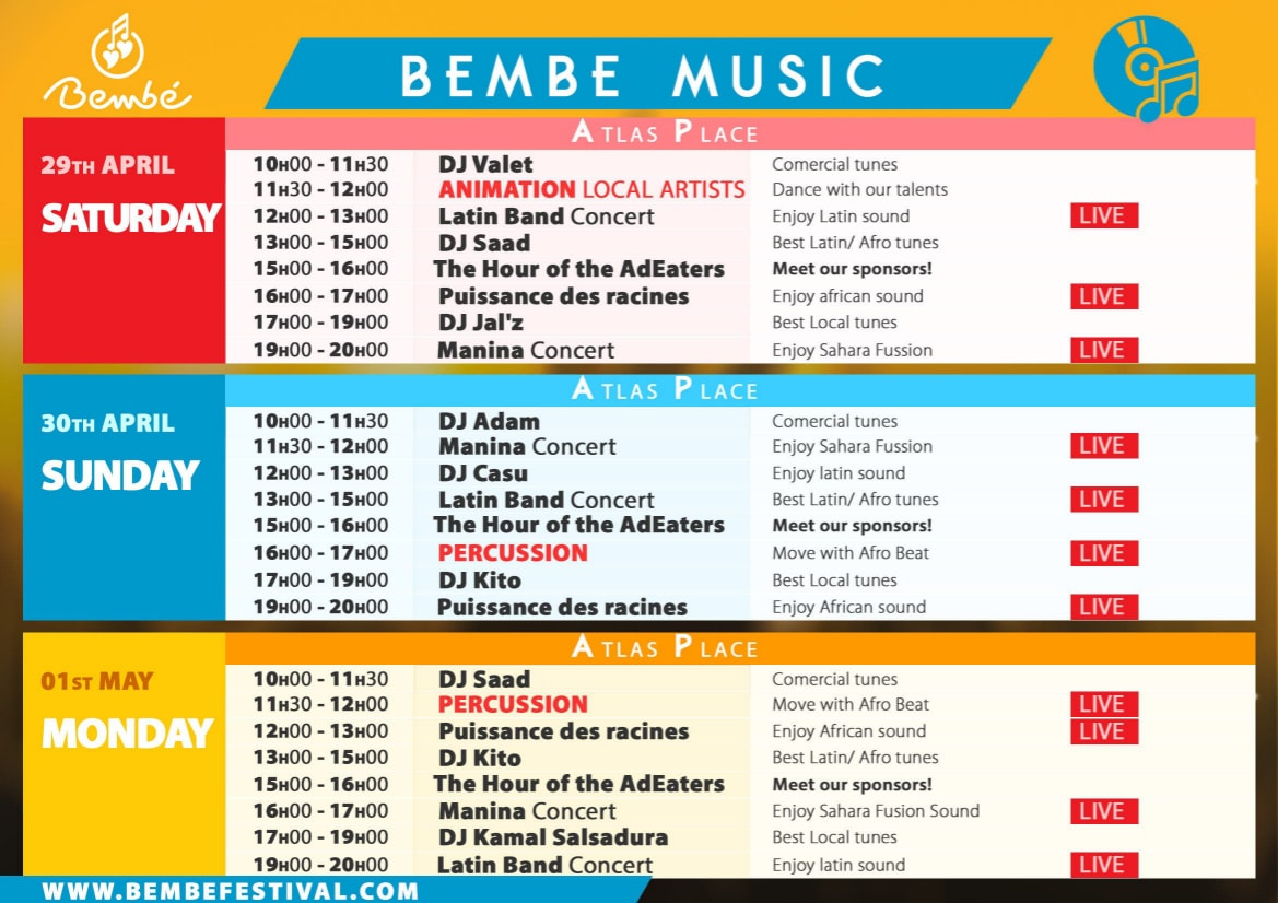 BEMBE Afro-Latin Festival - Salsa Cubaine, Kizomba, Salsa L.A. style, N.Y style, Chacha, Bachata et Tango Argentin